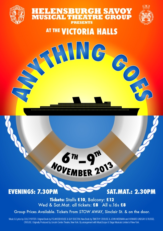Anything Goes 2013 poster